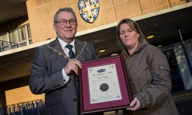 Water safety campaigner honoured