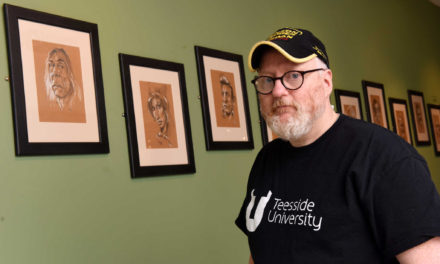 Caricatures provide new inspiration for games industry stalwart