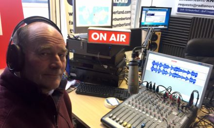 Top Northumberland Freemason Pledges £300,000 for charities on Radio Northumberland