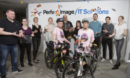 On your bike! Employees Going the Extra Mile for Charity