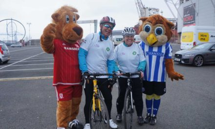 Teesside homes cycle challenge in support of Alzheimer's fight