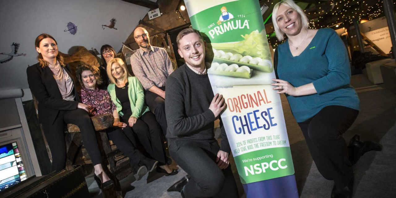 Gateshead Based Business Primula Cheese and the NSPCC Team up with Children's Authors to Help Kids to Dream Big