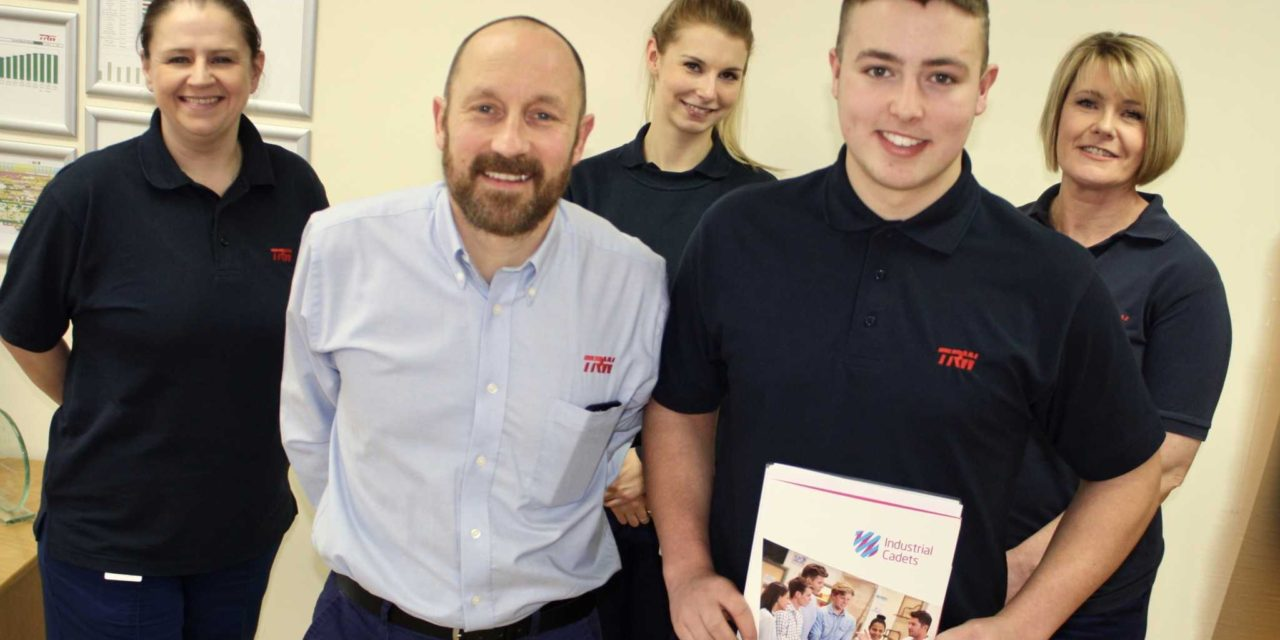 Lewis Earns Cadet Status at Global Company