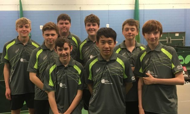 Bishop Auckland Table Tennis Club League Lead extended