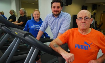 NEW TREADMILLS UP AND RUNNING AT PELTON COMMUNITY GYM