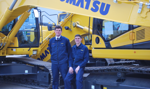 New jobs, new apprentices and new roles at Komatsu