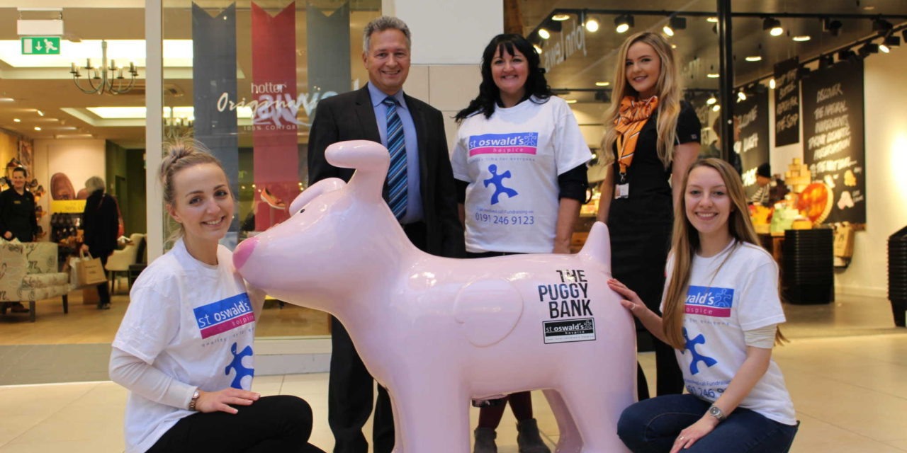 Hospice 'banking' on the 'su-paw- t' of local shopping centres