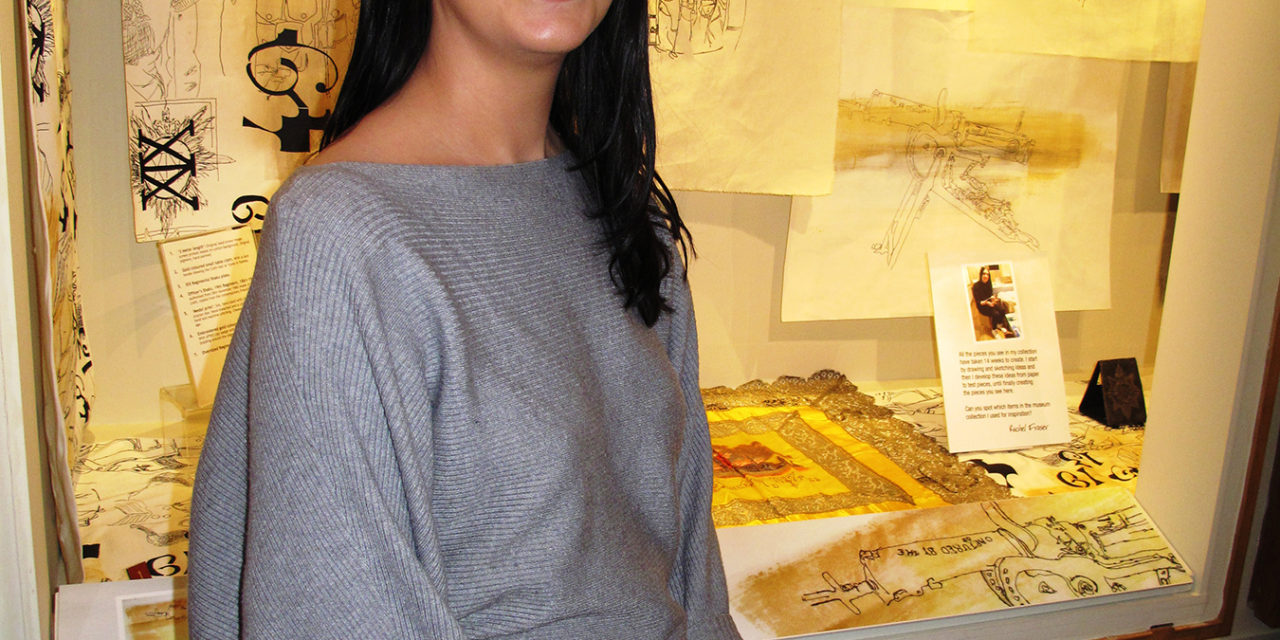 Textiles Student Launches Museum's 2017 Season with Military Exhibition
