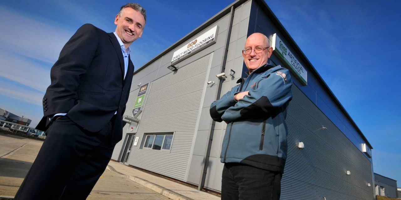 Online flooring retailer is latest to sign up to Portobello Trade Park