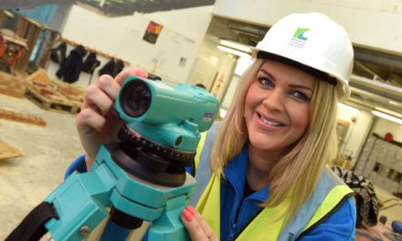 Redcar & Cleveland College Help Female Students Make Their Mark in the Construction Industry