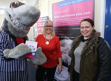 Hartlepool residents beating the loan sharks