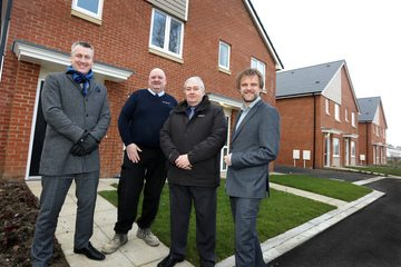 Affordable housing scheme nears completion in Stockton
