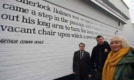 Public Poetry Project Unveiled in Middlesbrough