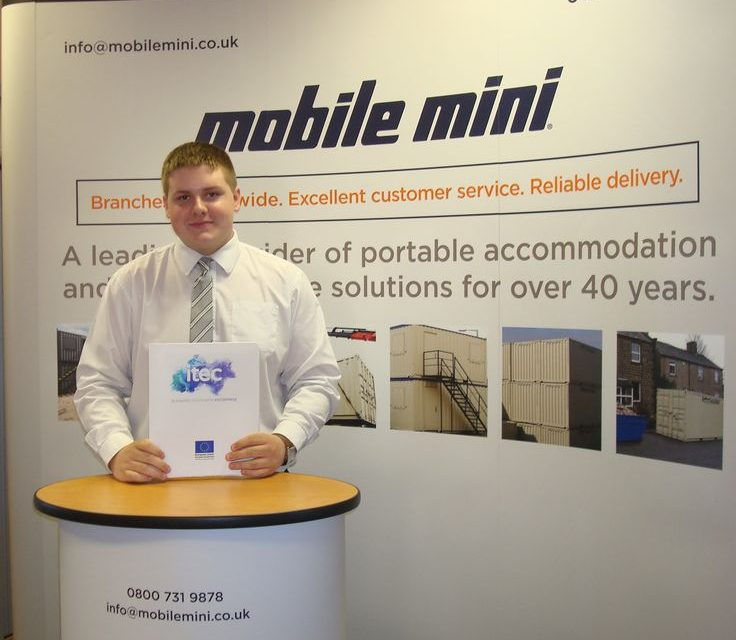 Mobile Mini's ambitious apprentice driving forward following second promotion