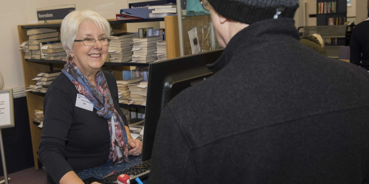 Volunteers take North Yorkshire libraries into the future