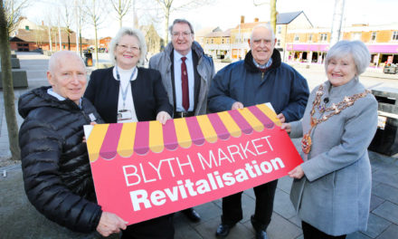 Revitalisation project underway at Blyth Market