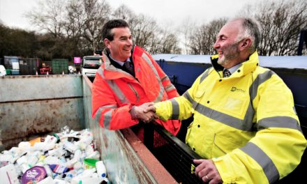 New partnership to manage recycling centres