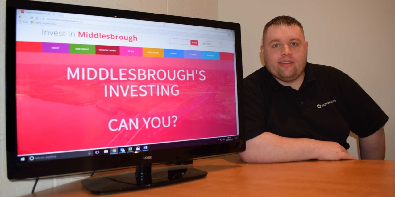 Website Designed to Attract Million of Pounds of Investment in Middlesbrough Launched by Town's Thriving Digital Marketing Agency Espresso Web