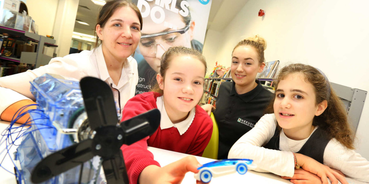 College inspires budding female engineers