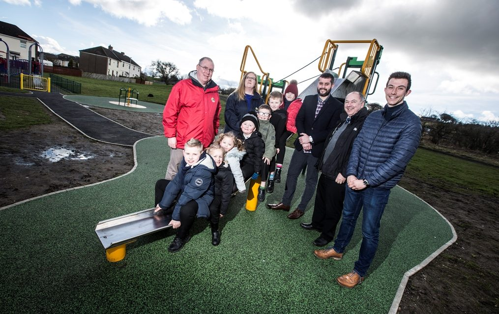 Arson-hit play area officially open after refurbishment