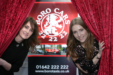Boro Taxis supports talented Teesside thespian to graduate from leading drama school