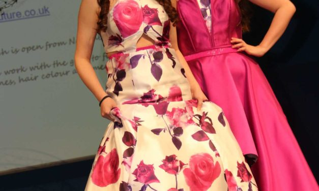 Students stage charity fashion show