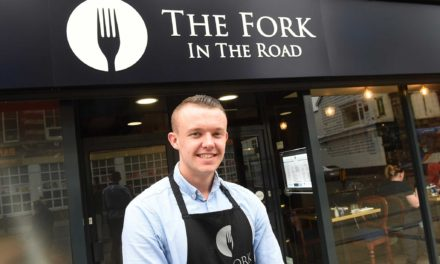 Restaurant apprenticeship is a Fork in the Road for Len
