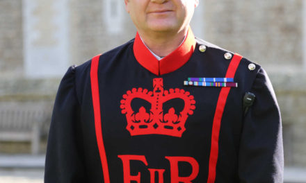 Tower of London welcomes new Yeoman Warder