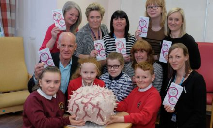 Children's art exhibition reflects on dementia