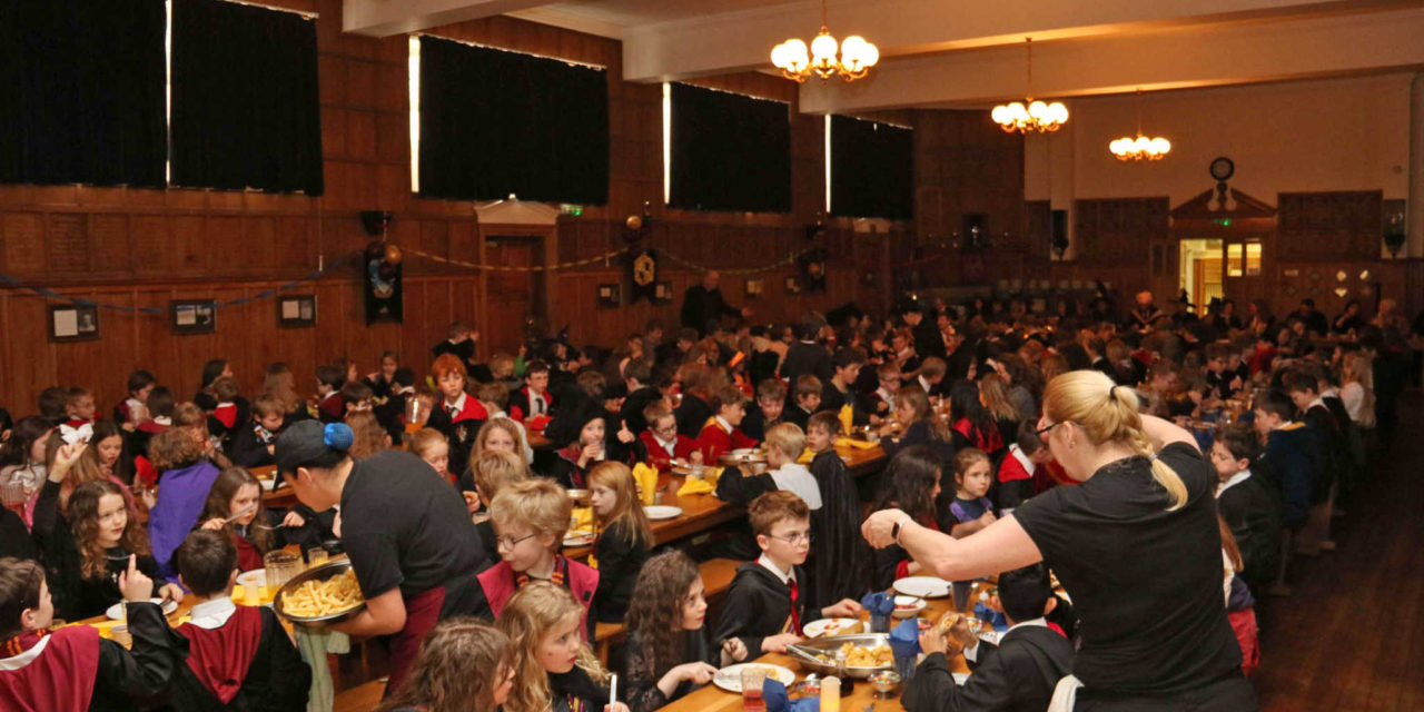 School transformed into Hogwarts to mark 20 years of Harry Potter