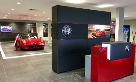 new Alfa Romeo and Jeep showroom