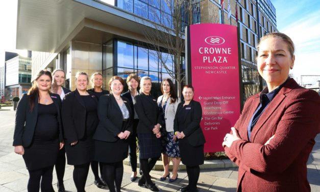 Girl power is the engine behind Crowne Plaza Newcastle