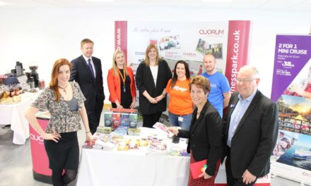 Huge success for Quorum's first careers fair