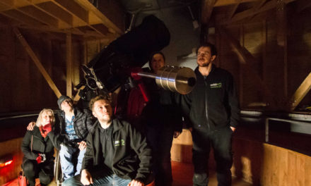 Reach for the Stars : Kielder Observatory invests in £10,000 telescope with full disability access