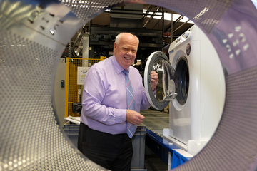 Bakewells Sound & Vision first with new British washer from Ebac