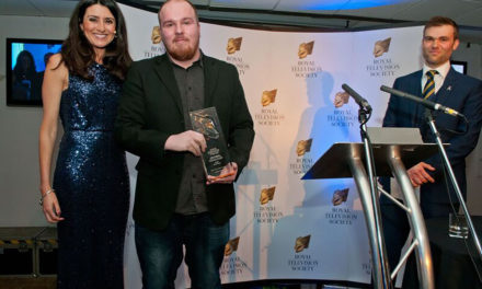 Stockton Film Graduate Recognised At Royal Television Society's Yorkshire Student Television Awards