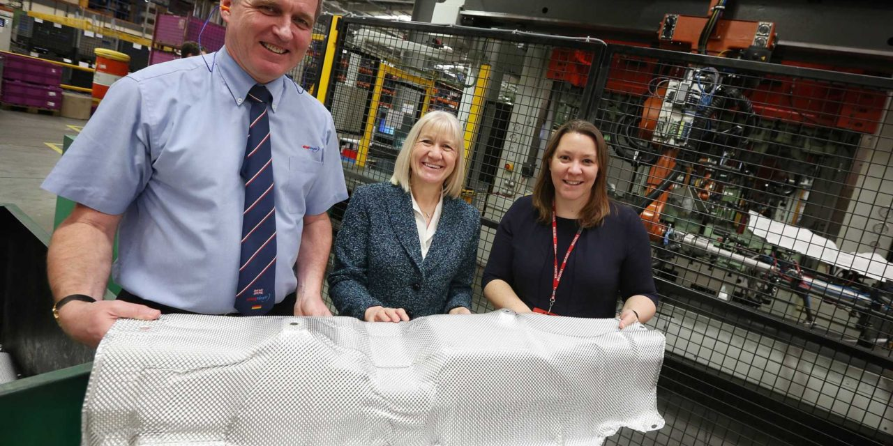 Officials Visit Evolving Teesside Automotive Manufacturer
