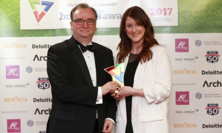 Muckle wins North East Business Community Award for fourth time