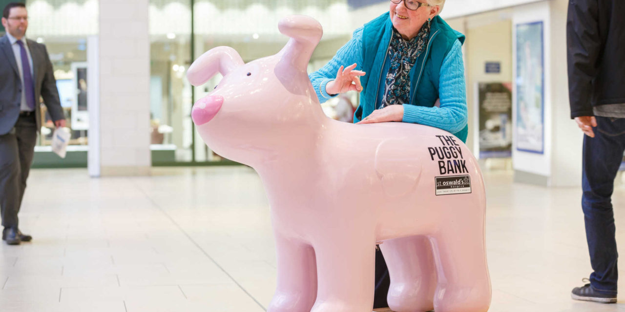 Hospice 'banking' on the 'su-paw-t' of local shopping centres