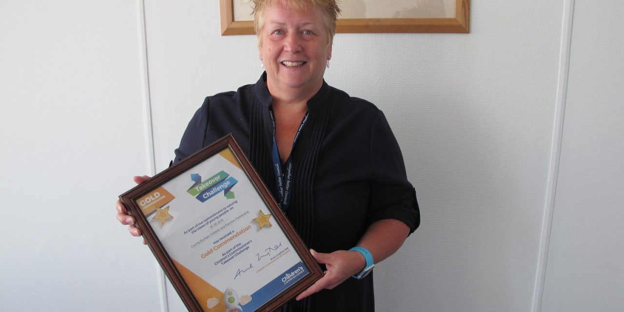 Children and Families Partnership awarded gold commendation