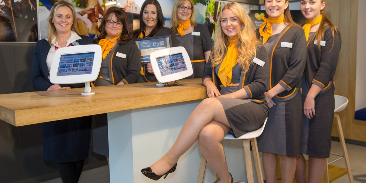 Middlesbrough students' careers take off at Teesside travel shop