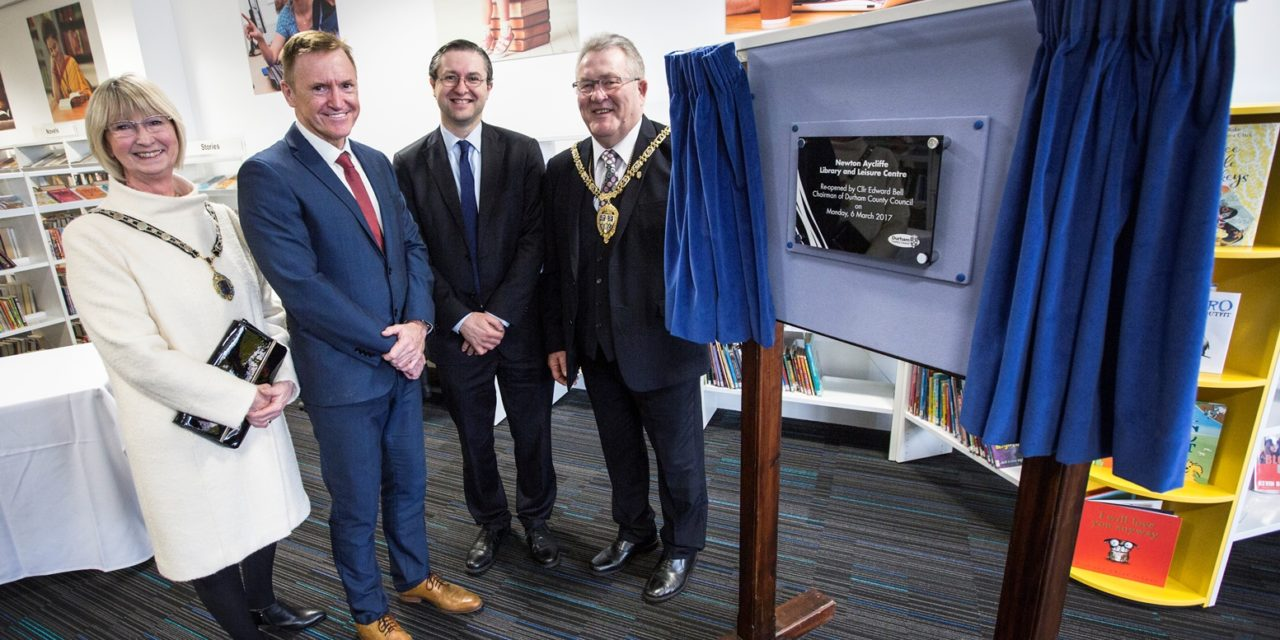 Official opening of Newton Aycliffe Library