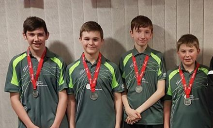 Cadet League Medals for Bishop Auckland Table Tennis Club