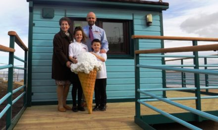 Popular ice cream stall returns to Whitley Bay's seafront