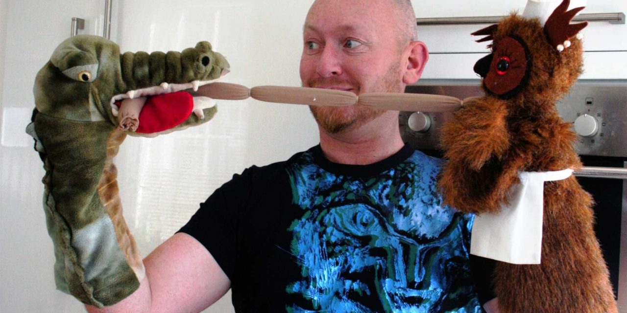 Come Dine With Me says Sunderland based Puppeteer Winner