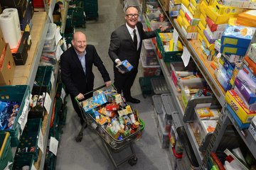 Tyne Tunnels Community Fund backs The BAY Foodbank