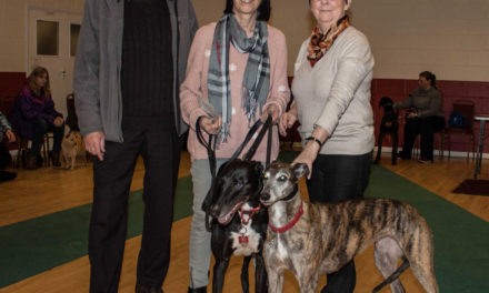 Local Greyhound charity receives generous donation