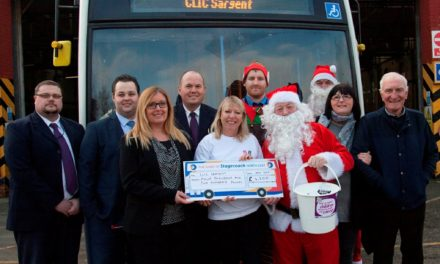 Bus Driving Santas Raise over £26,000 for Charity