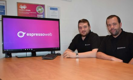 Digital Marketing Agency Espresso Web leads the way on Teesside and scoops Top Apprenticeship Award