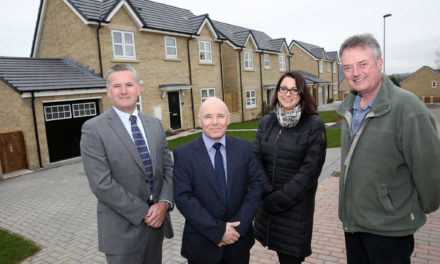 Development team announces successful completion of £2.5m Alnwick housing scheme